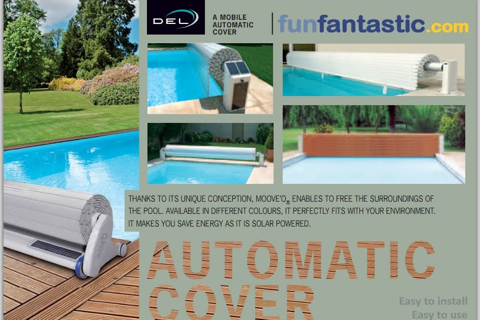 Del Automatic Swimming Pool Safety Covers Fun Fantastic Uk Ltd