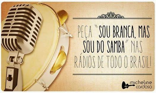 CD Michele Cardoso - Sou Branca Mais Sou Do Samba (2014)