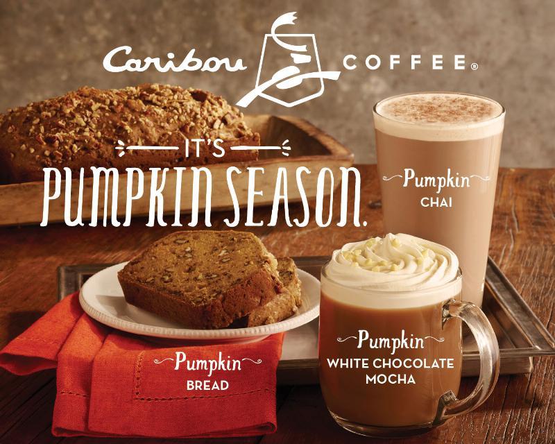 NewsCaribou Coffee Returns Pumpkin Menu for Fall 2013 Brand Eating