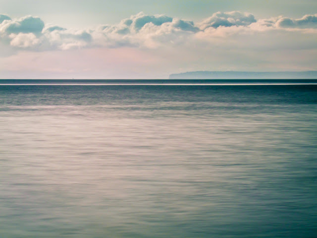Calm Blue Ocean - Fine Digital Photography