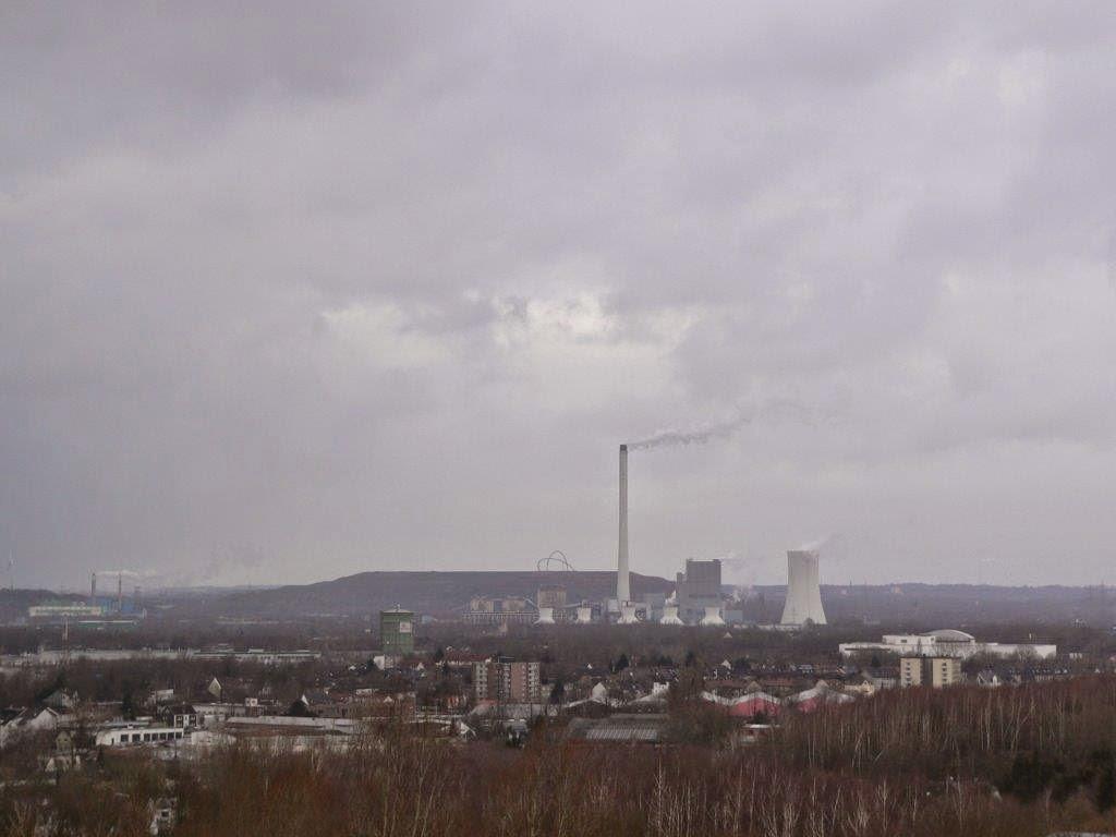 Bochum Ruhrgebiet Ruhrpott Halde Aussicht