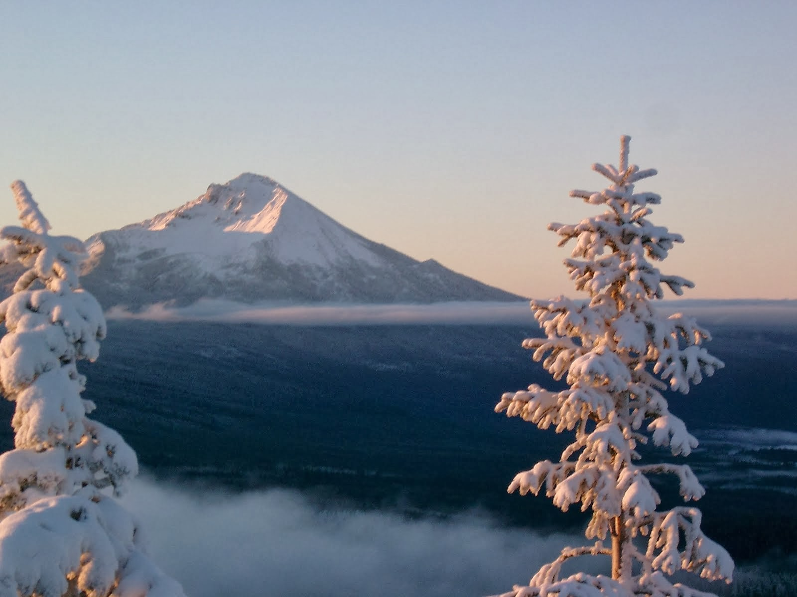 Mt McLoughlin at Sunrise
