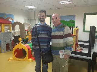 Με τον αθλητικό συντάκτη Μένιο Σακελλαρόπουλο