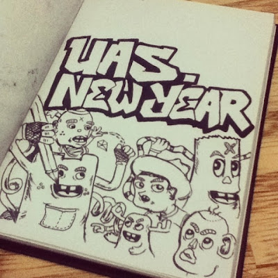 DAY22: Uas Vs New Year 2014 | anggitabay