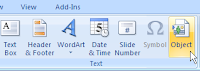 إدراج ملفات الاوتوكاد في برامج MS Word و PowerPoint Image3