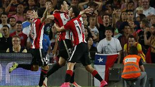 Barcelona vs Athletic Club, Resumen, goles, y ganador de la Supercopa España 17-08-2015,
