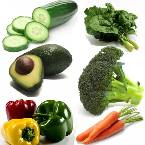 Vegetables that help you burn stomach fat