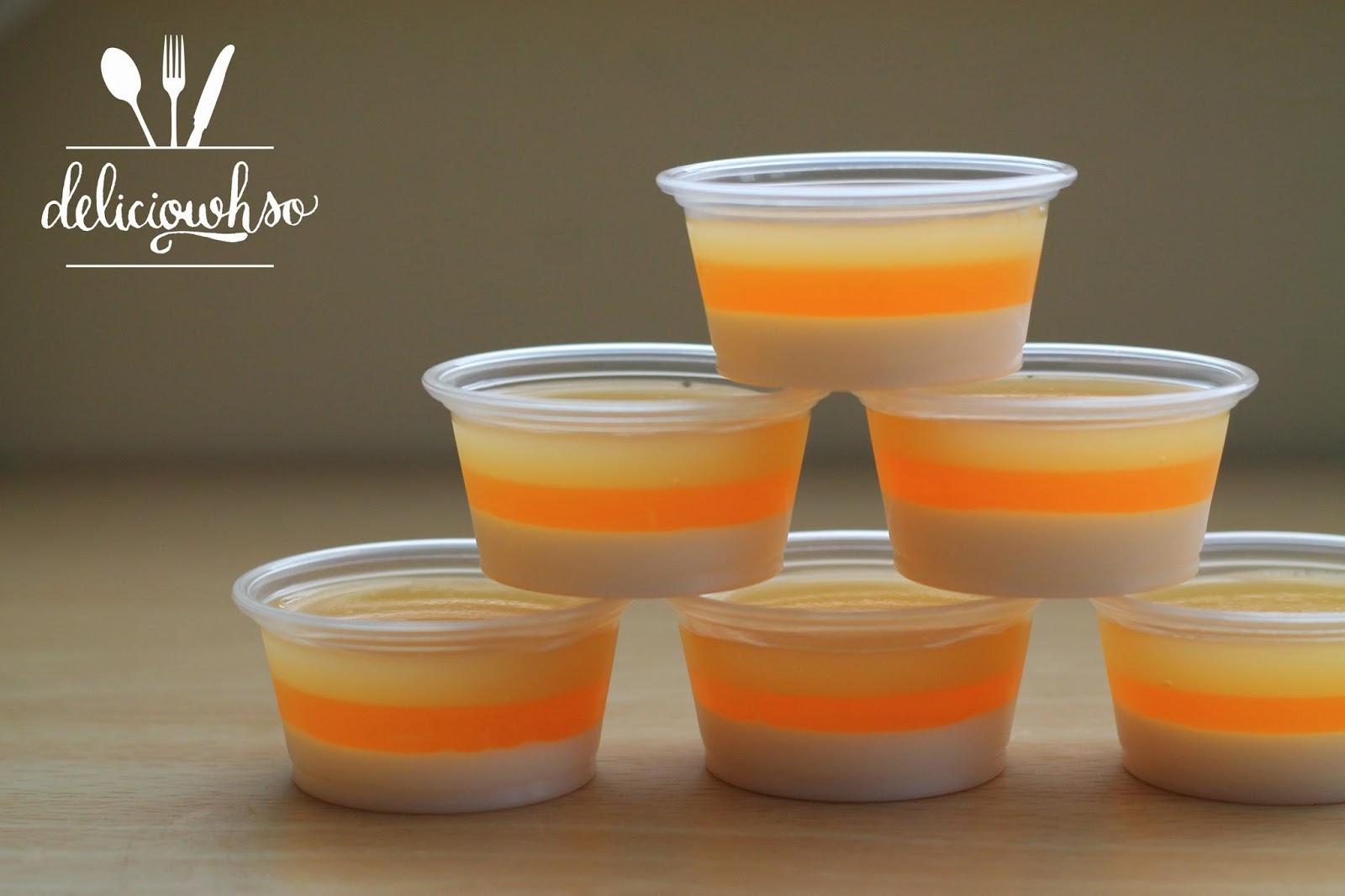 DELICI-OWH-SO: Candy Corn Jello Shots