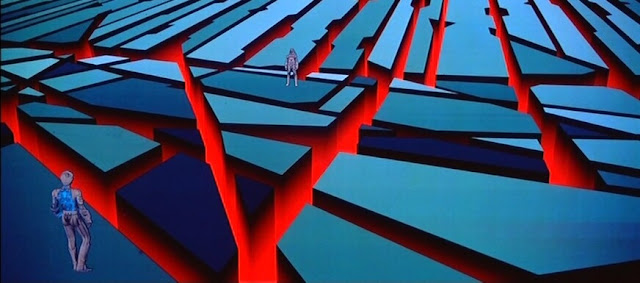 Expressionism in TRON