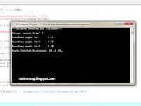 Pengurutan Bilangan Menggunakan C++