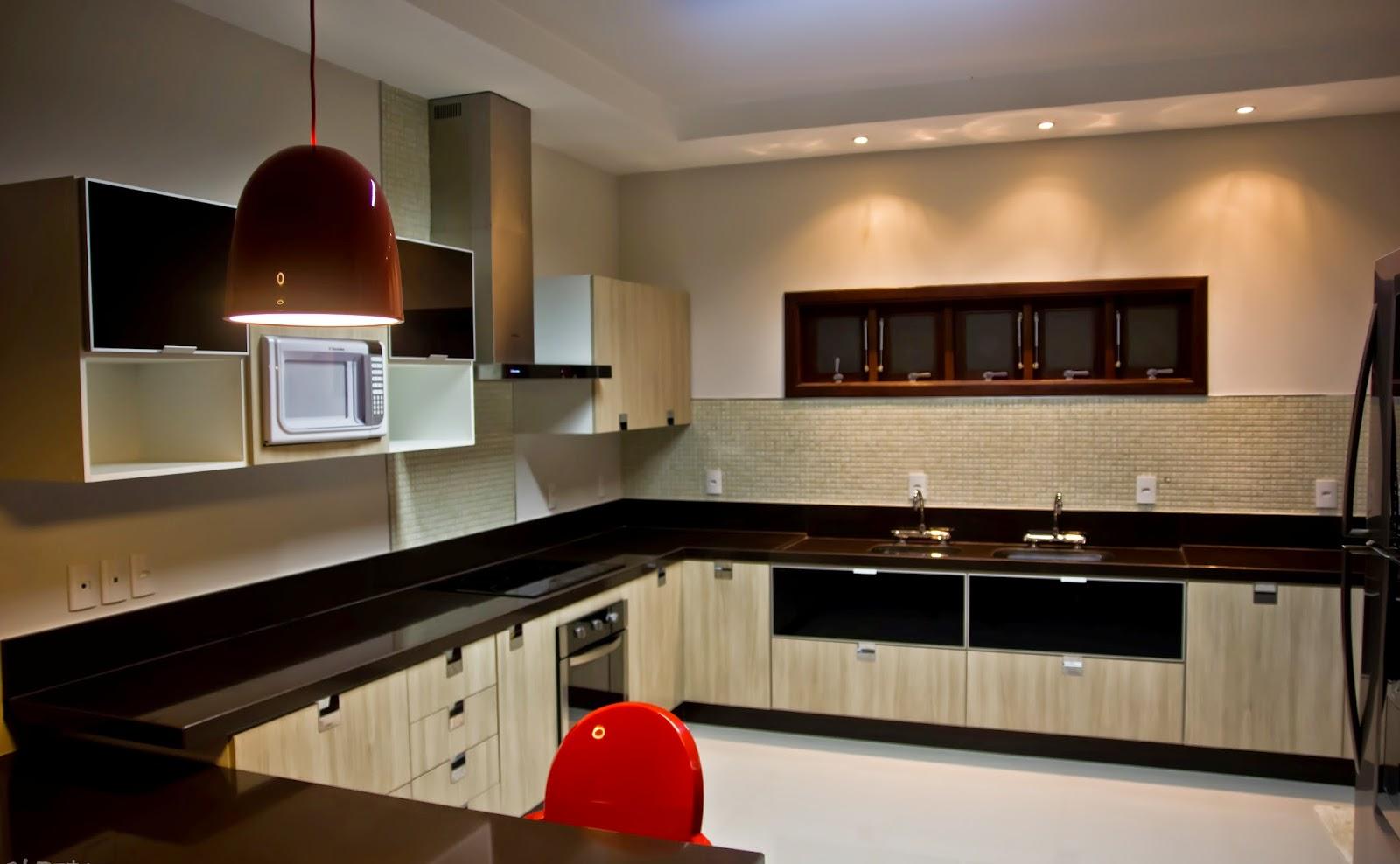 Cozinha Moderna Planejada Foto Reproduo Romero Duarte U Arquitetos