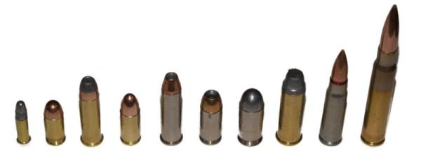 Jenis kaliber dan peluru