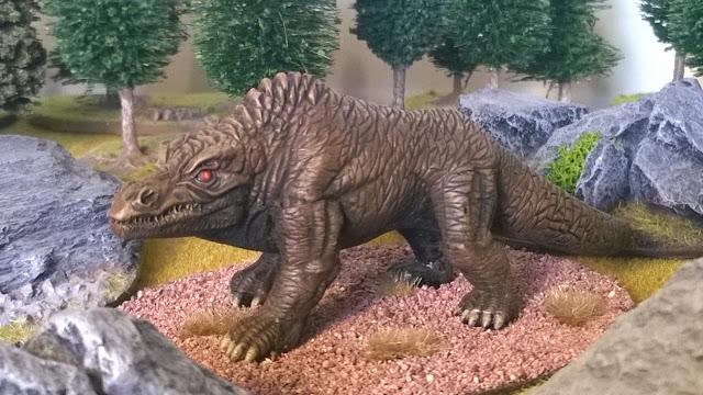 Antediluvian Miniatures megalosaur hyde park dinosaur monster