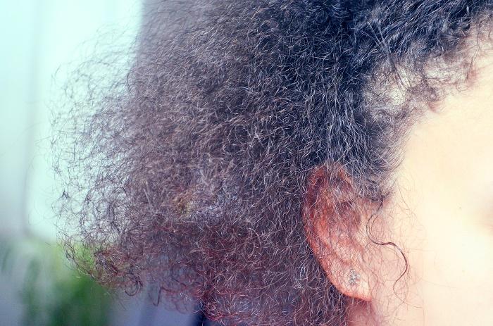 cheveux touffe