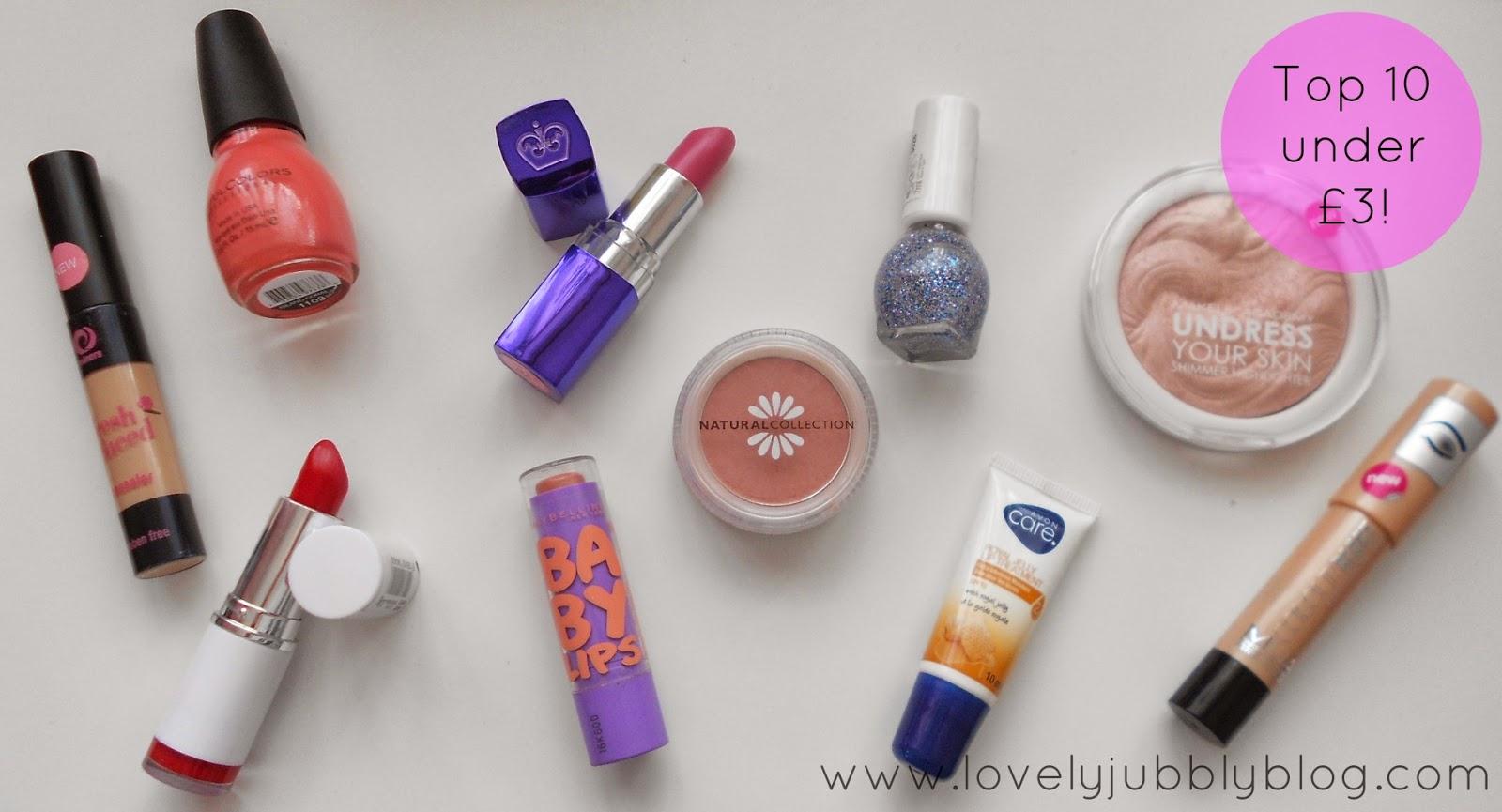 cheap beauty budget buys bargain under £3 £5 £10 pound shop ebay