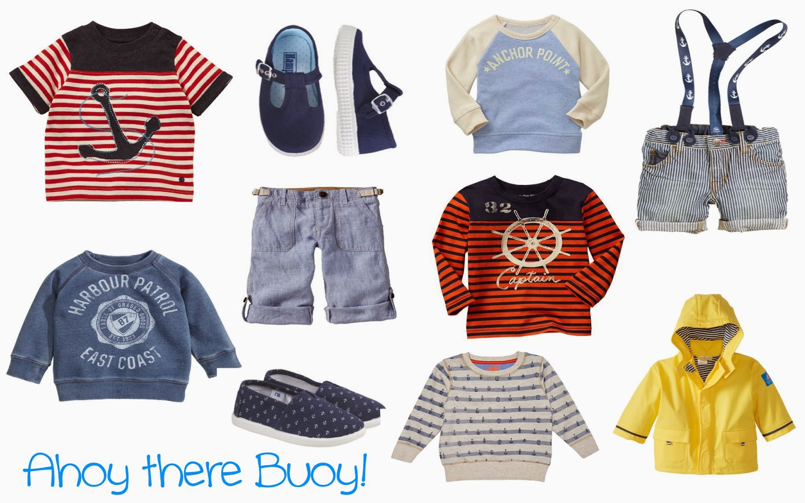 V. I. BABY | Cute Spring fashion buys for 'Nautical' little boys | anchor print fashions | nautical kids style | anchors, ships and boats style fashion | anchor print | boys fashion | kids style | mamasVIB | zara kids | gap kids | mothercare | fashion for kids | boys clothes