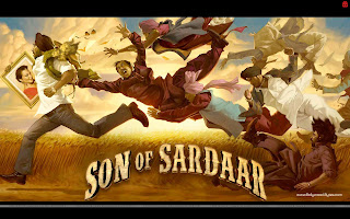 Son Of Sardaar HD Wallpaper Ajay Devgn, Sonakshi Sinha