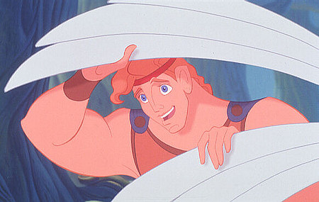 Hercules smiling Hercules 1997 animatedfilmreviews.filminspector.com