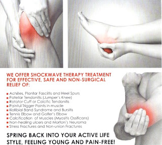 Radial Shockwave Therapy (RSWT) Treatments