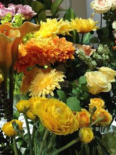 ビタミンカラーの花たち
