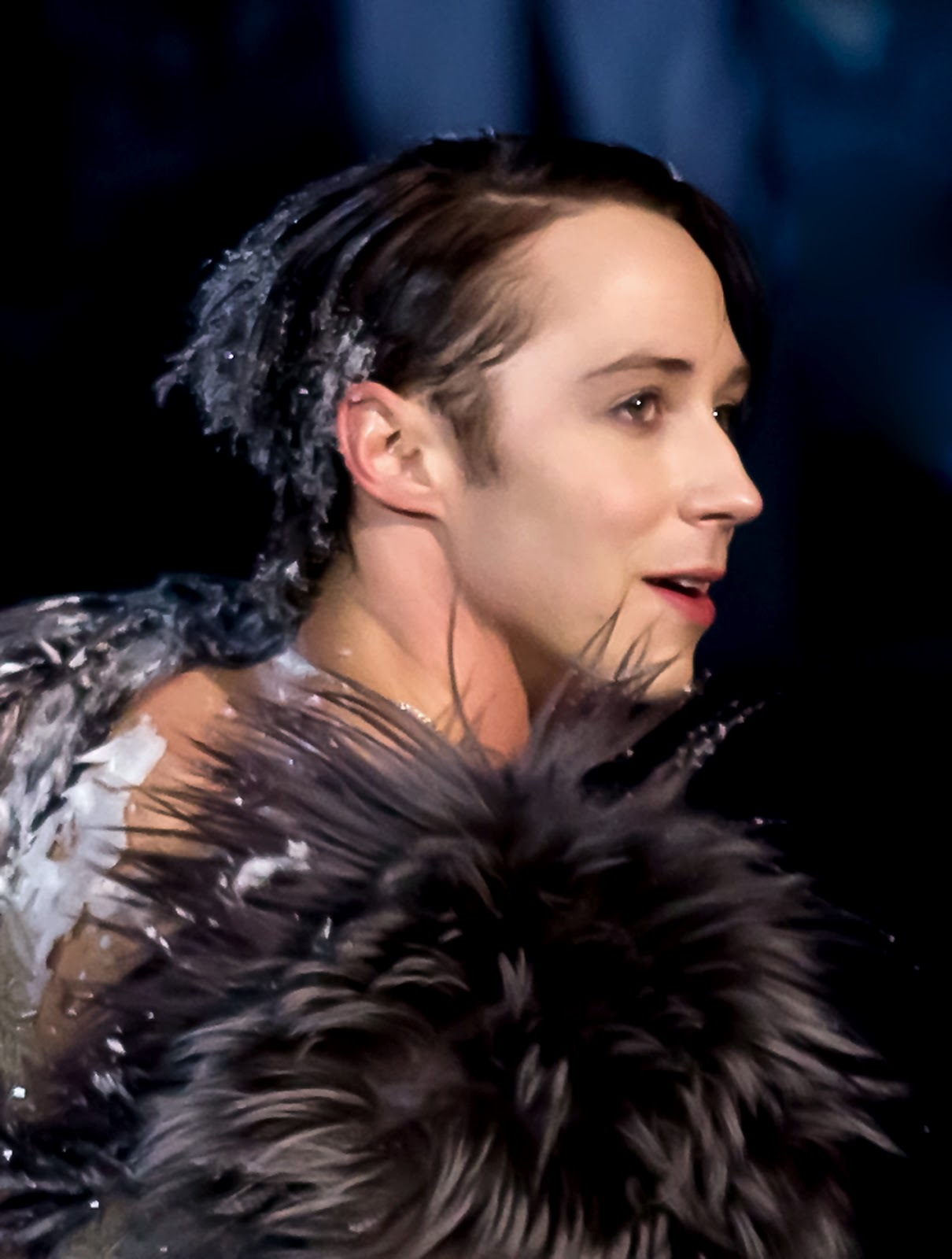 Johnny Weir. Photo © David Ingogly @ Binky's Johnny Weir Blog.