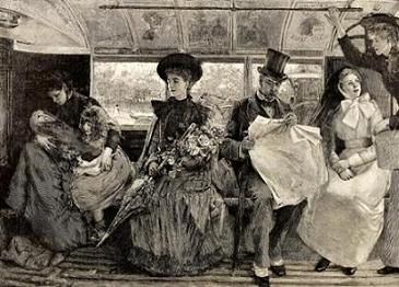 Traveling on Public Transport (1895)