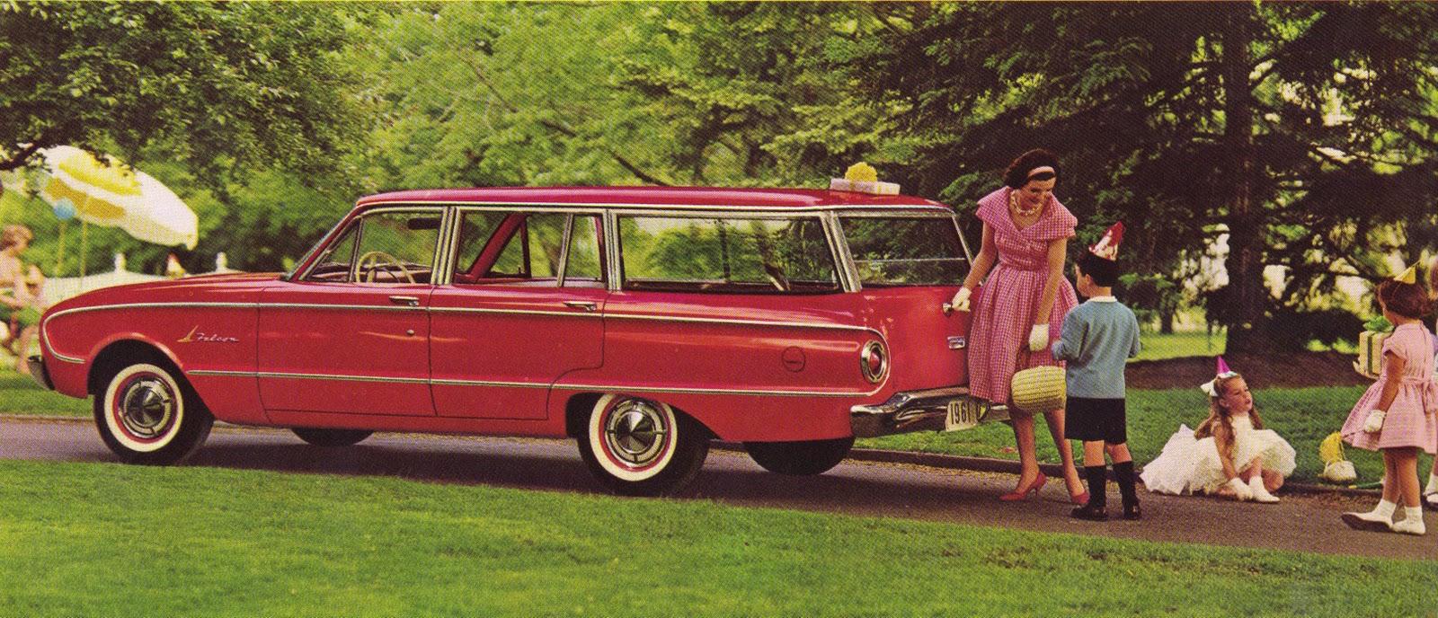 transpress nz: 1961 Ford Falcon station wagon