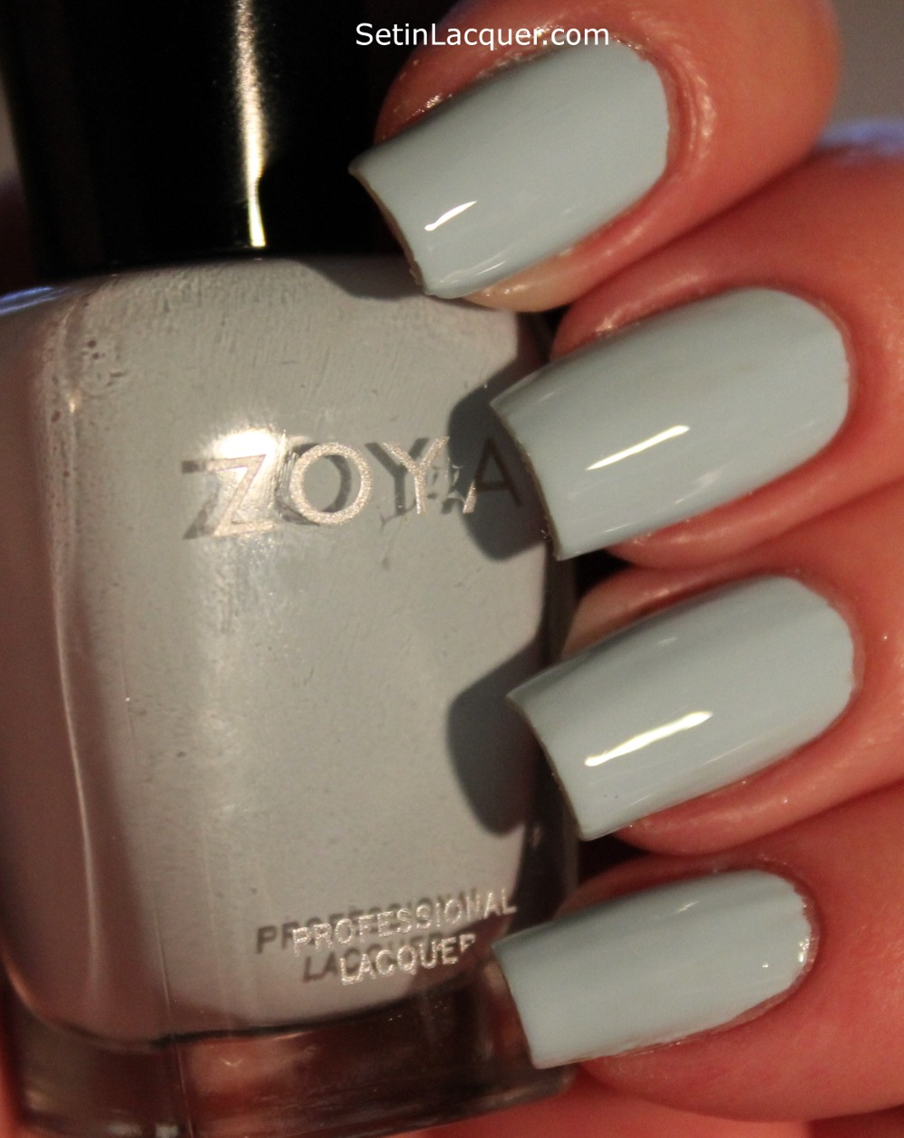 Zoya Lovely Collection swatches - Set in Lacquer