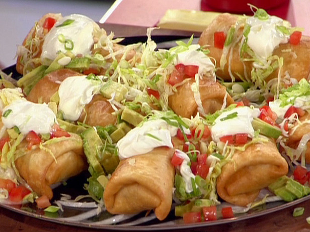 My Favorite Things: Crispy Chimichangas...Baked or Fried...You Decide