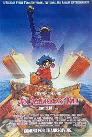 "DVD cover ""An American Tail"" 1986 animatedfilmreviews.blogspot.com"