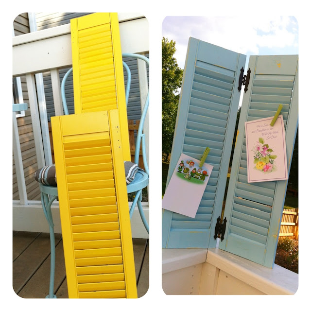 Old Shutters Upcycled