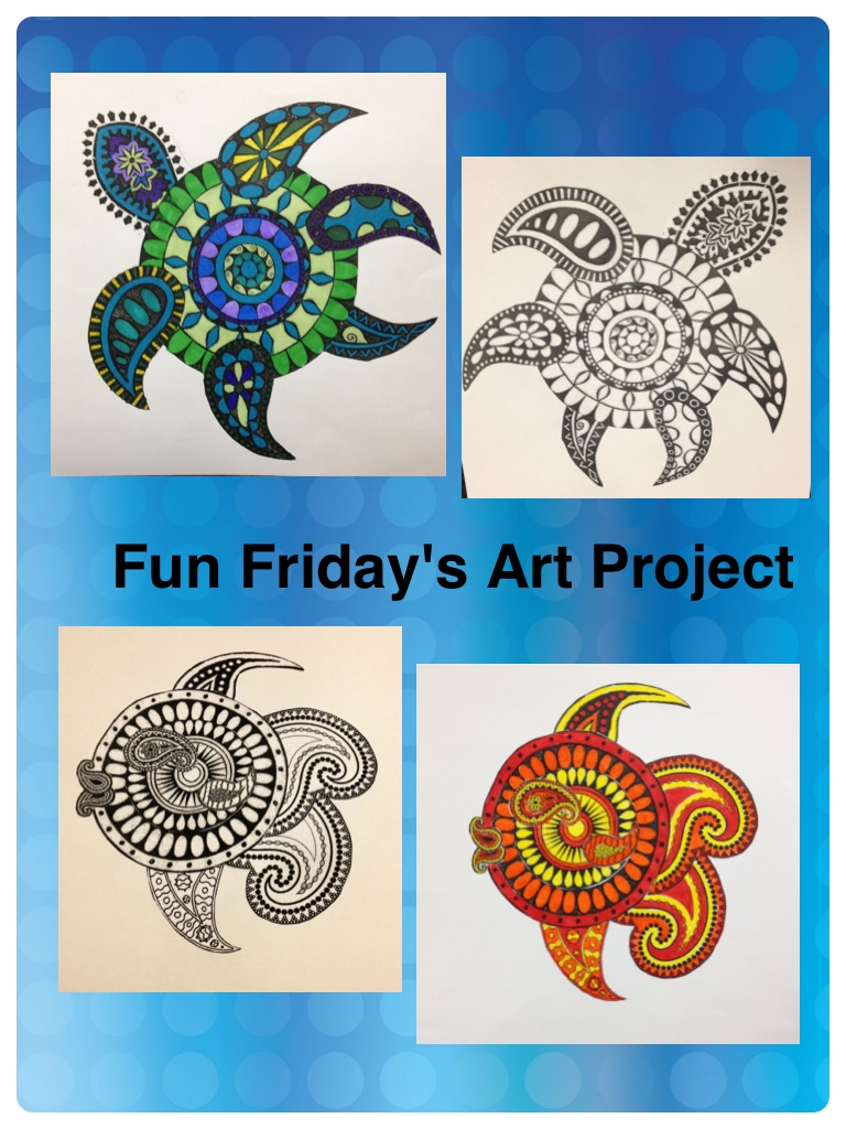 Working 4 the classroom incredible student creations an for Simple art projects