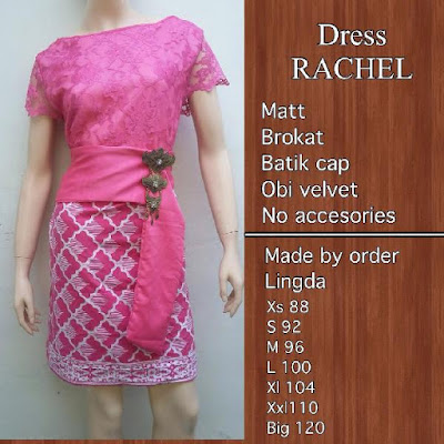 Kebaya Batik Modern Rachel KBW 302