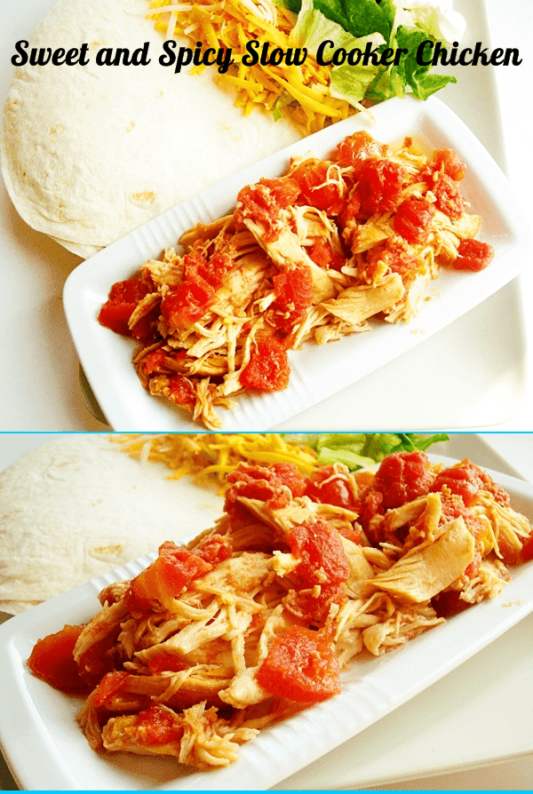 Sweet and Spicy Slow Cooker Chicken | Best Recipes Ever