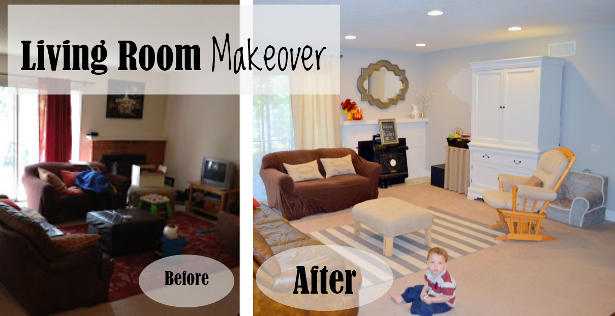 Money hip mamas diy home makeover living room for Living room makeovers