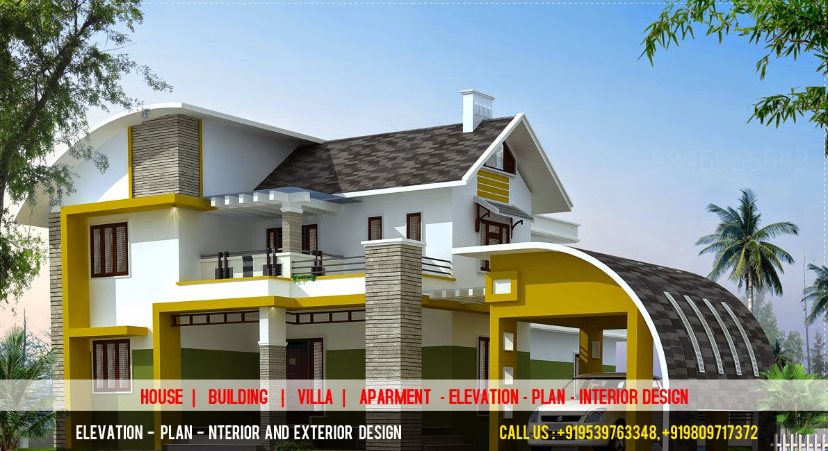 House Elevation Plan Images : D elevation plan designer best building house