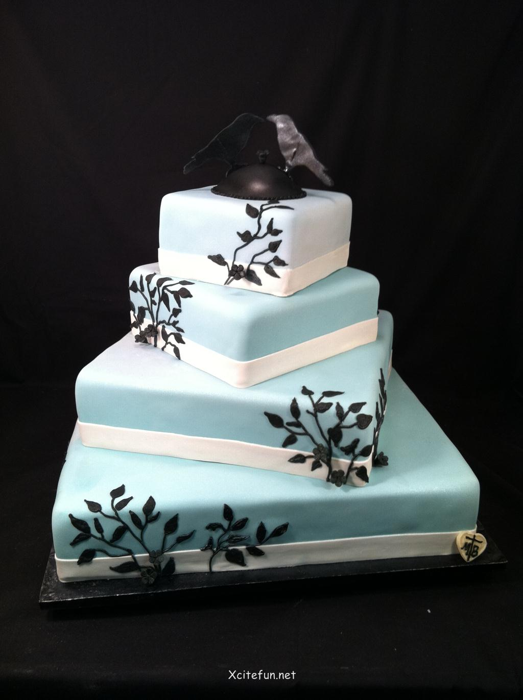 Cake Decorating Ideas For Wedding Simple : Wedding Cakes - Decorating Ideas