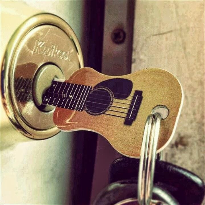 Llave guitarra