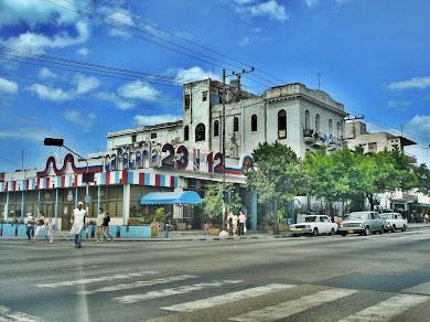 El Vedado en la Habana, Cuba