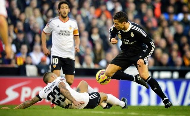 Hasil Liga Spanyol 2015 Tadi Malam Valencia vs Real Madrid 2 1