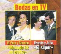 El Fary y Carmen, Gloria Muñoz, serie de Antena 3