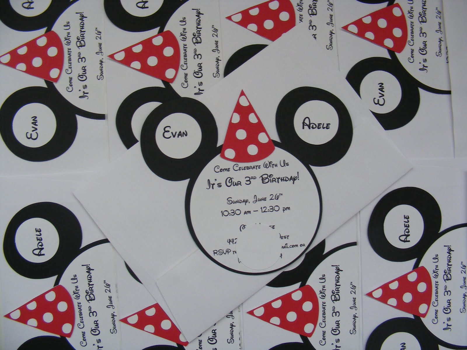 Whimsical Creations by Ann: Mickey Minnie Mouse Twins Birthday ...