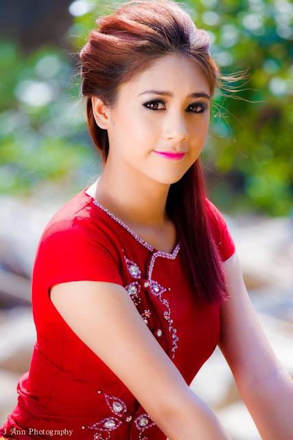 Miss Universe Mandalay 2015 Winner  Han Lay