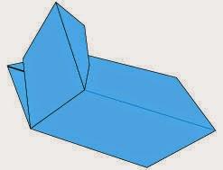 Bước 9: Hoàn thành cách xếp chiếc thuyền buồm bằng giấy đơn giản.