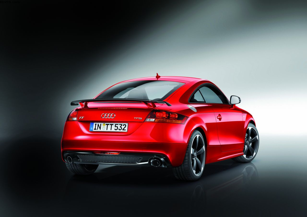 Revista Coche: Llega a España el nuevo Audi TT Coupé S Line Competition