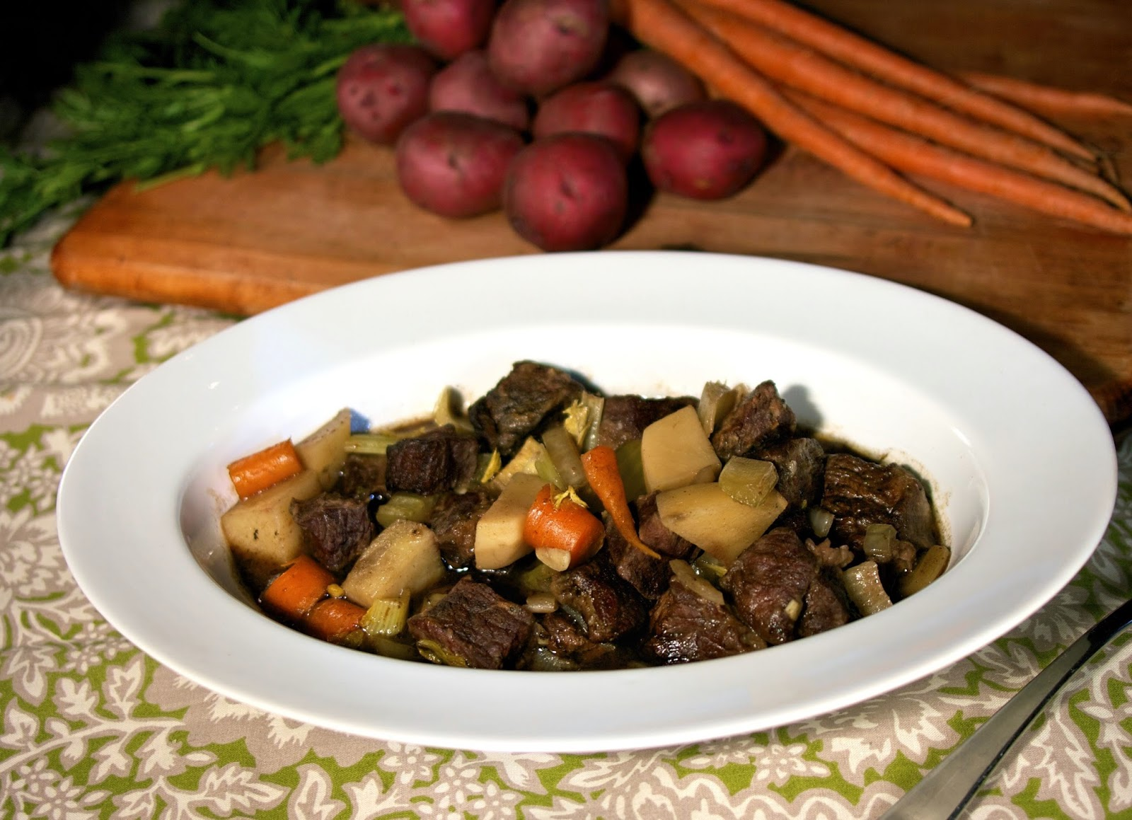Beef Stew: Half Crocked: simplelivingeating.com