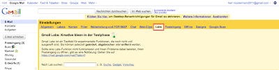 Google Mail E-Mail versenden rückgängig machen