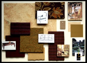This Is An Example Of A Color Board Used By Interior Designers To Keep The Details Project Organized And Show How All Surfaces Room Will