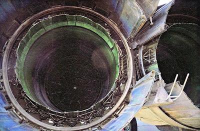 Регулируемые сопла двигателя Р 15