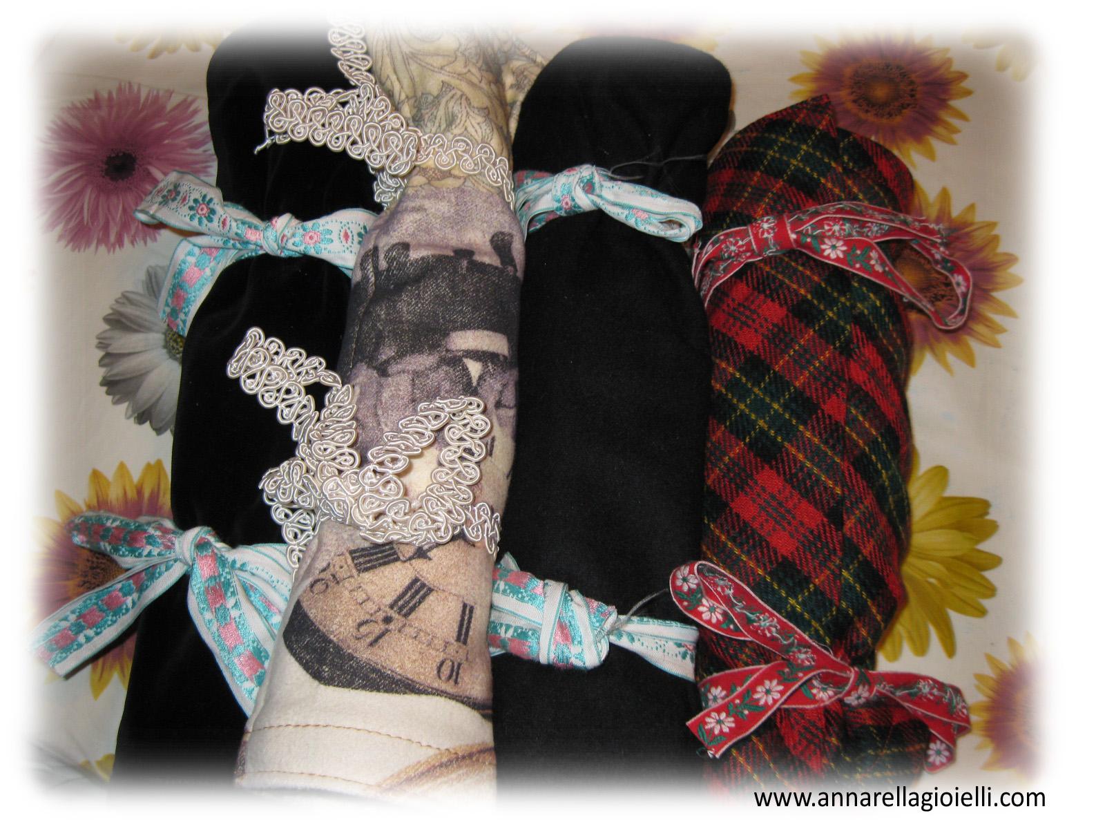 Annarella gioielli tutorial portagioielli in stoffa fai da te - Portagioielli fai da te ...